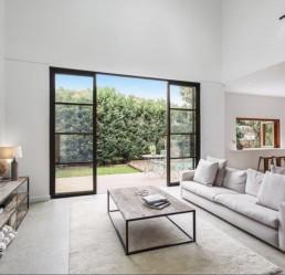 steel windows and doors project in Sydney