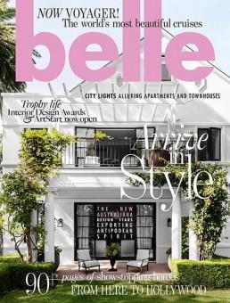 Belle Magazine Cover